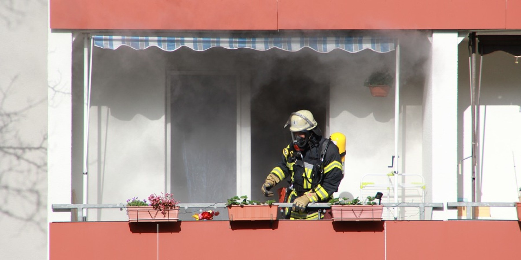 Wohnungsbrand am Lammerbach – 30-jähriger Mieter festgenommen