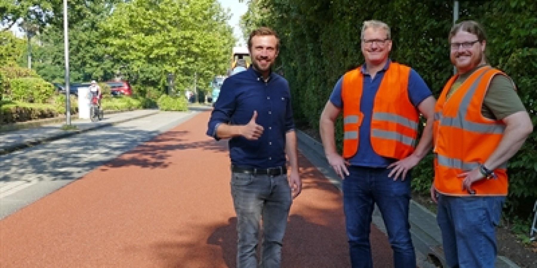 Heisenbergstraße: Erste Fahrradstraße mit neuen Qualitätsstandards