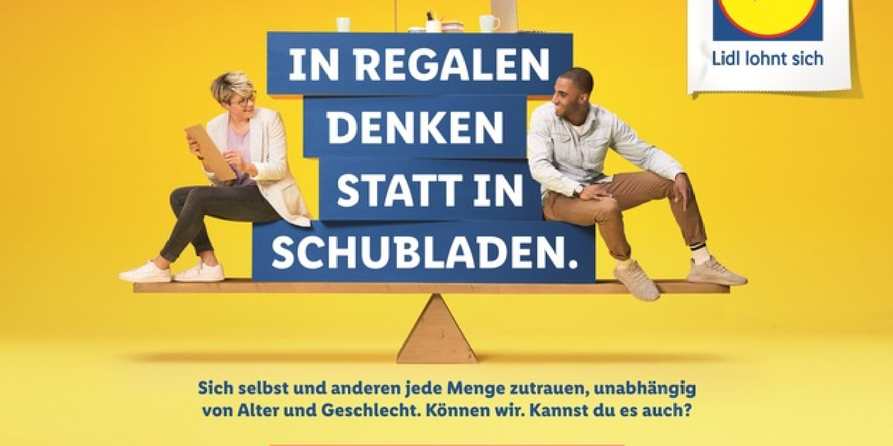 Lidl muss man können: Neue Kampagne zur Arbeitgebermarke