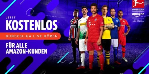 """Alexa, öffne Live-Fußball"": Kunden hören ab sofort Bundesliga, den DFB-Pokal und Champions League kostenlos"