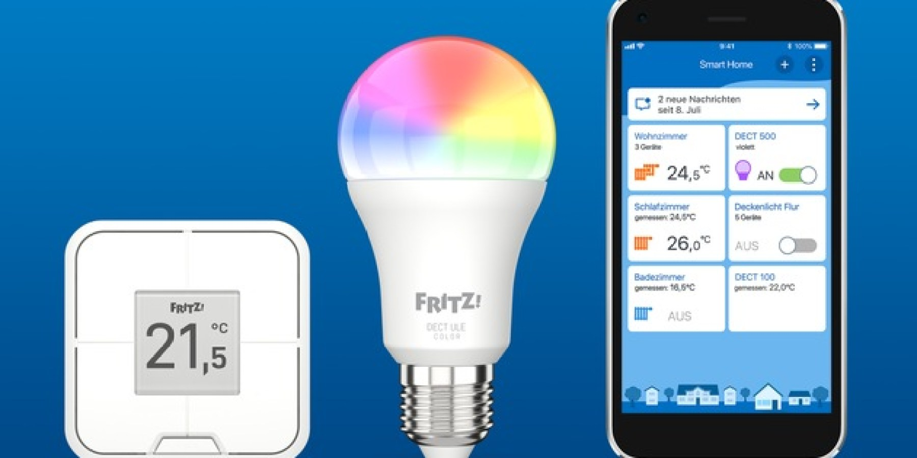 AVM mit vielen Neuheiten bei 5G, WiFi 6 und Smart Home