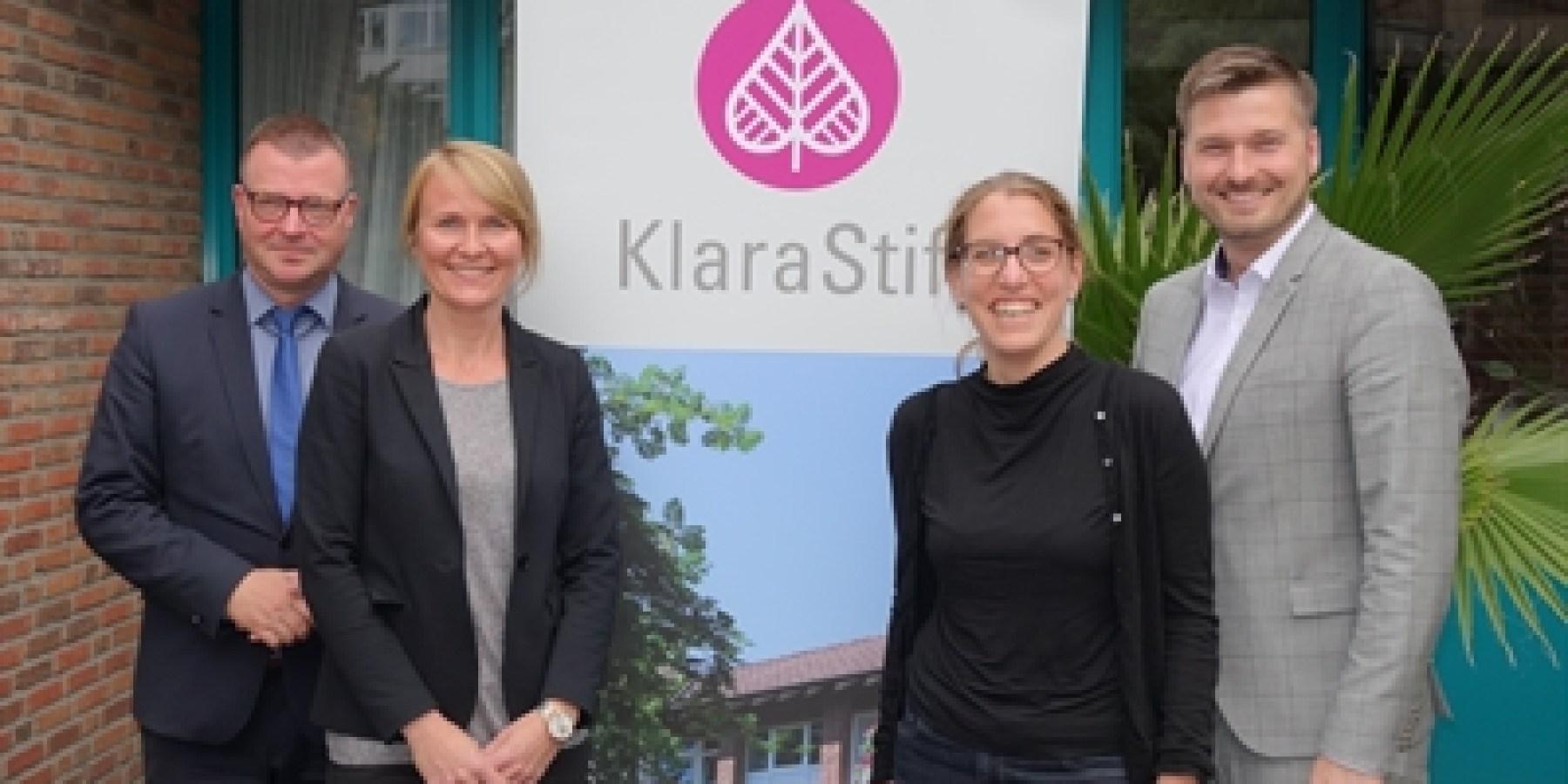 Ewa Woroch leitet Altenzentrum Klarastift