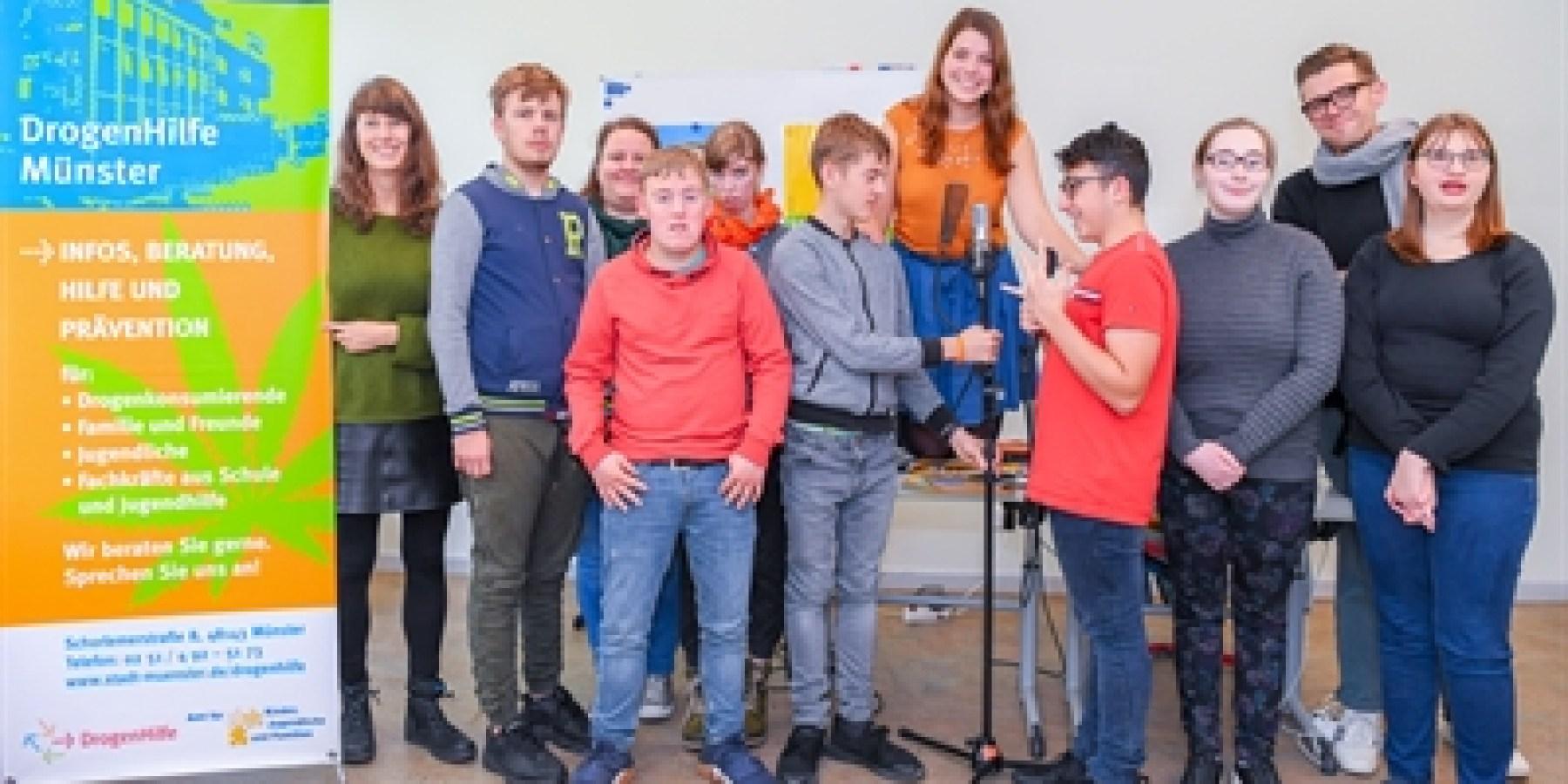 Leben ohne Qualm: Hip-Hop-Workshop in der Regenbogenschule