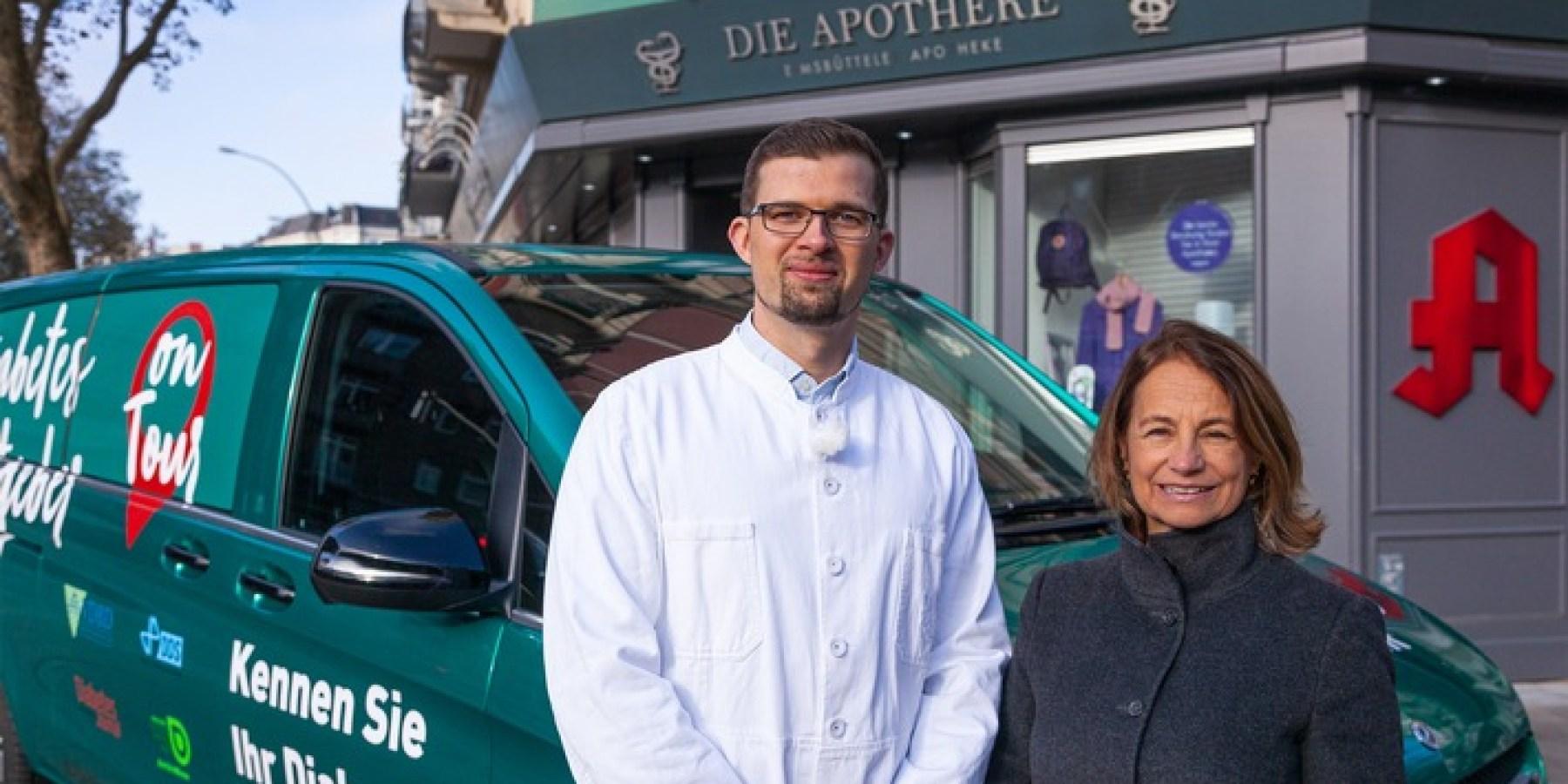 Diabetes-Bus auf Deutschland-Tour – Auftakt ist der Weltdiabetes-Erlebnistag