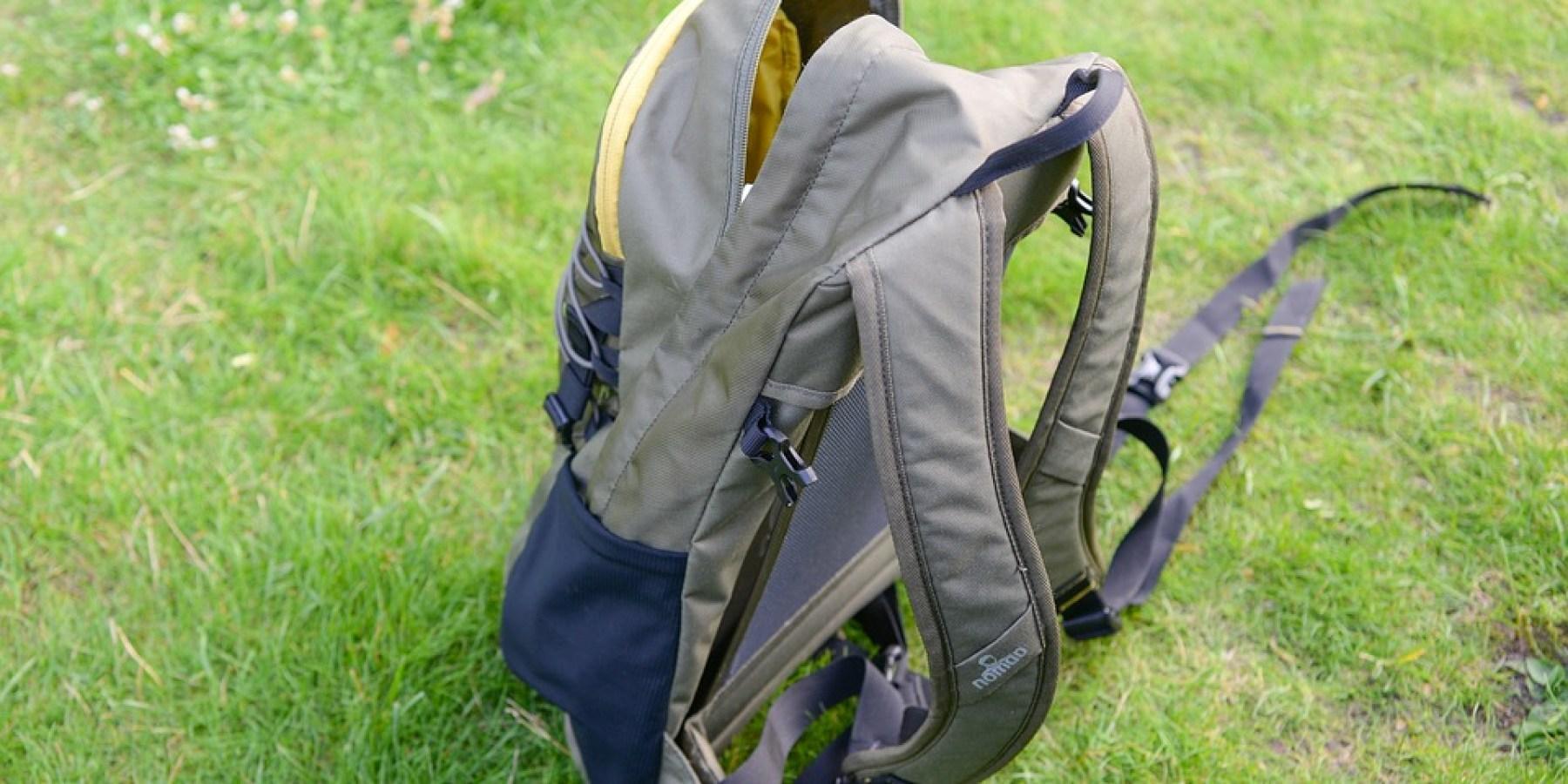Rucksack aus Fahrradkorb gestohlen