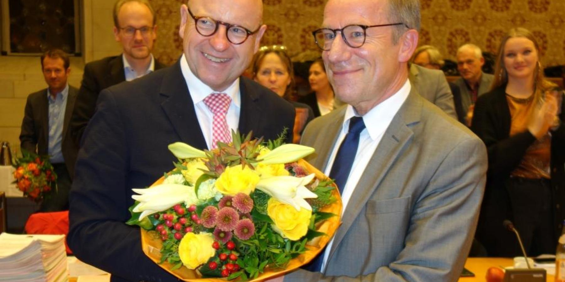 Wolfgang Heuer bleibt Beigeordneter der Stadt