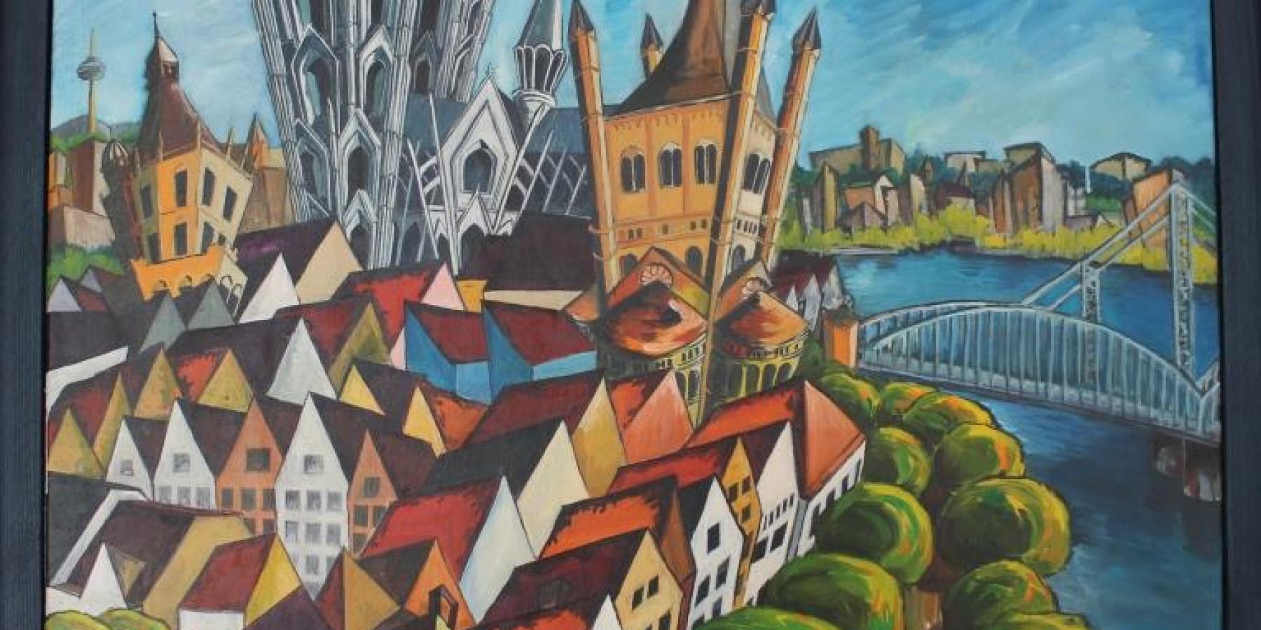 Kunstausstellung: Farben des Weltfriedens