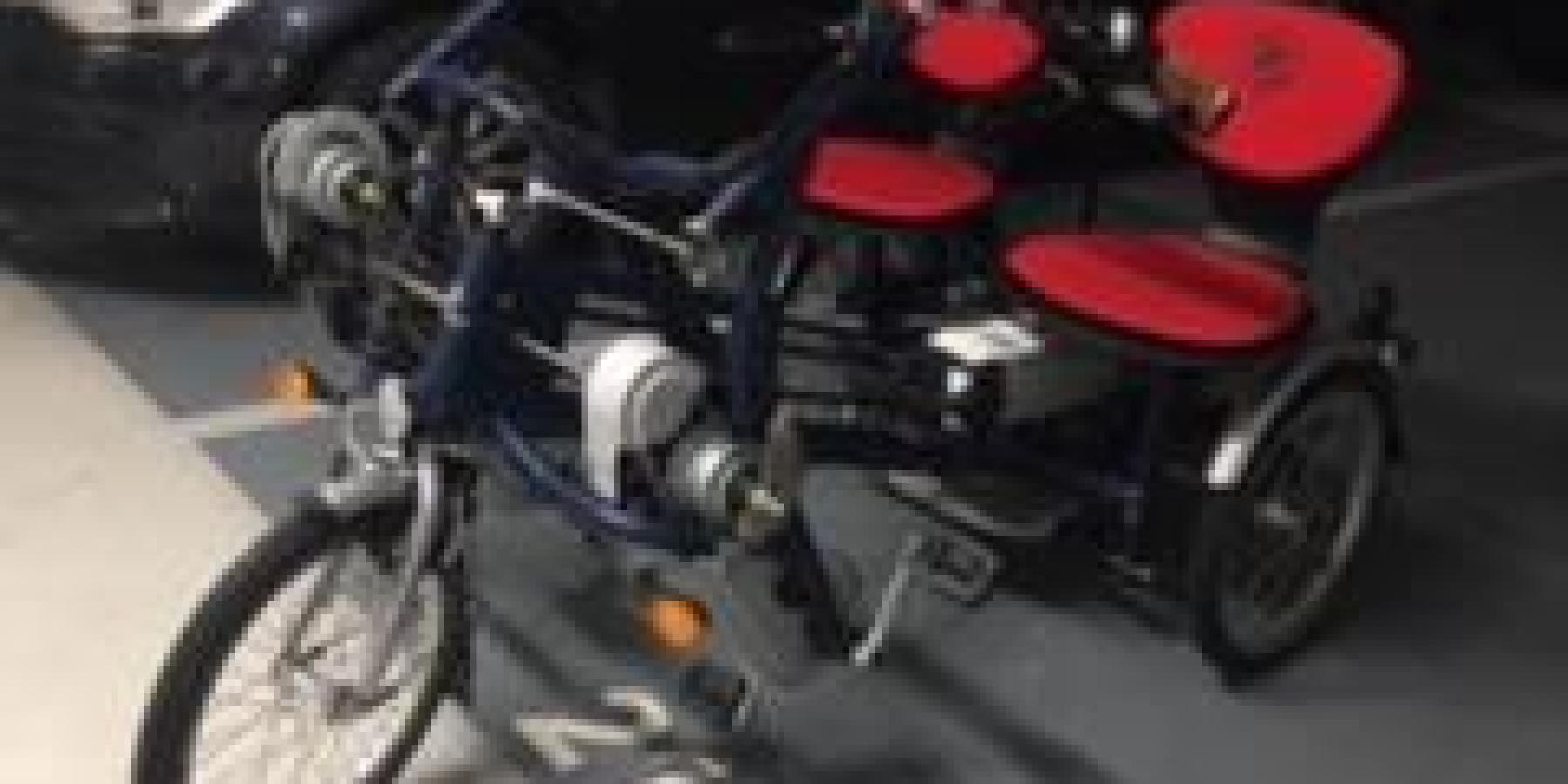 Reha-Dreirad von sehbehinderter Frau gestohlen – Wer hat dieses Rad gesehen?