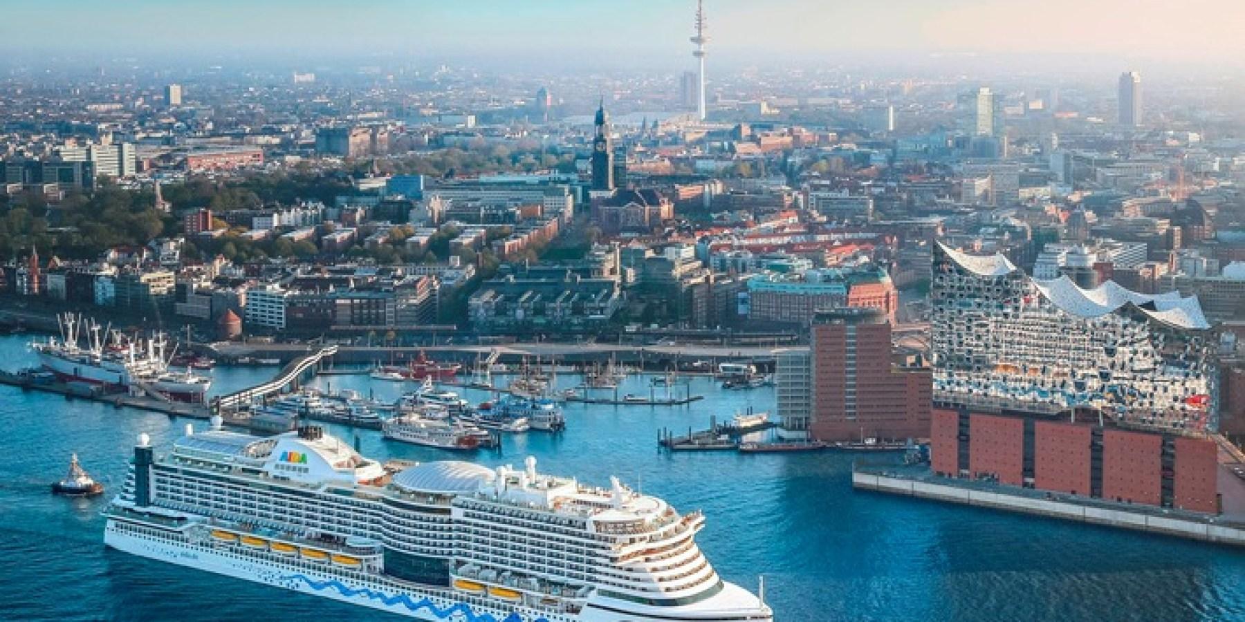AIDA nimmt Kurs auf Hamburg