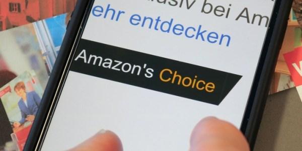 """Verbraucherzentrale NRW zu """"Amazon's Choice"""": Amazons fragwürdige Empfehlungen"""
