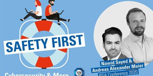 """TÜV SÜD-Podcast """"Safety First"""": Themen der RSA Conference 2020"""