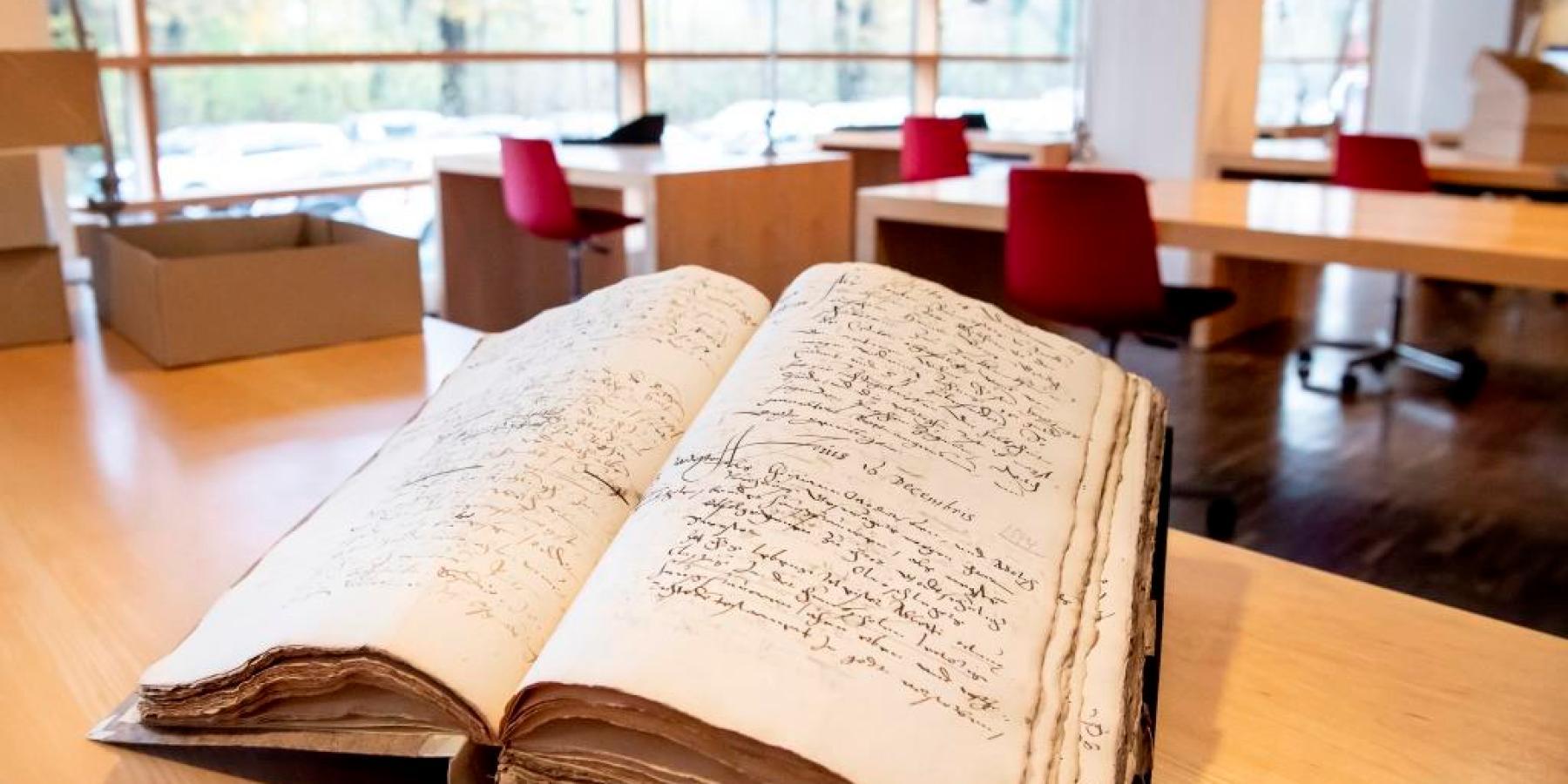 Lesesaal im Stadtarchiv öffnet