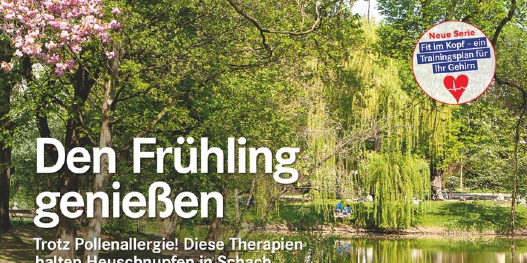 Pollenflug: Diese Therapie hält Heuschnupfen in Schach
