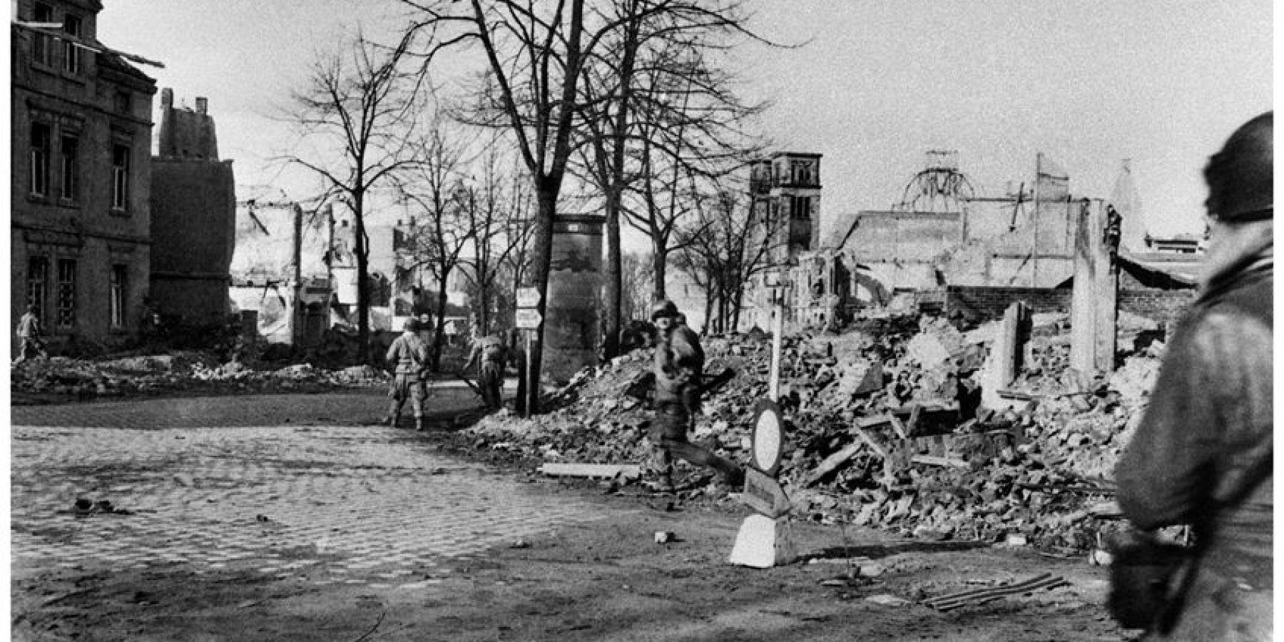 Filmdokumente von Elend und Zerstörung