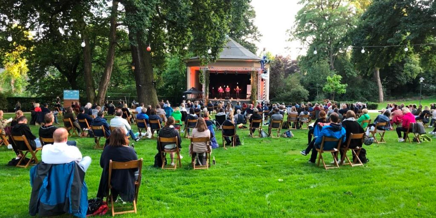 Halbzeit für Kultur-Open-Air im Schlossgarten