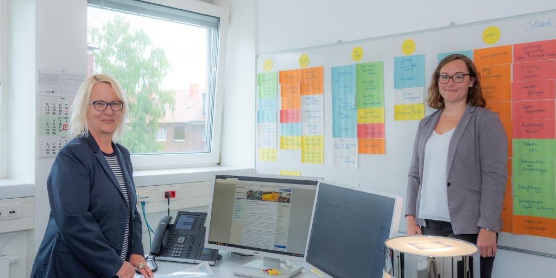 Ausländeramt setzt auf digitale Information und  Willkommenskultur vor Ort