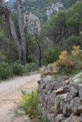 Blick zur Ermita Sant Simeo