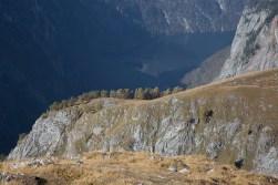 Grat des Hanauerlabls, im Hintergrund der Obersee