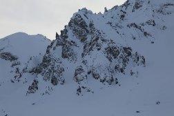 Felswand am Loferer Seilergraben
