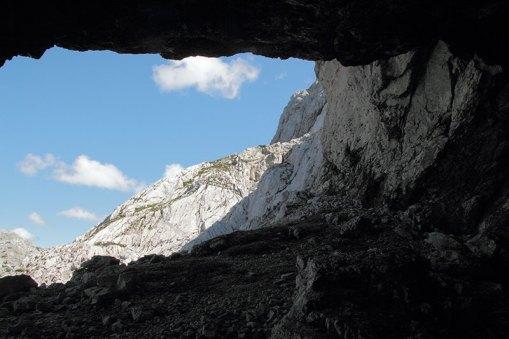 Inside Gruber Eishöhle