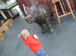 Große Tiere gibt es auch!