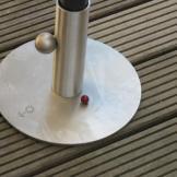 Rundplatte für den Ampelschirm