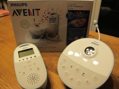 Philips Babyphone mit Sternenprojektor