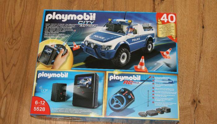 Spielzeug des Monats: Das Playmobil RC-Polizeiauto mit Kameraset