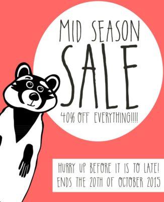 Mid Season Sale bei racoon