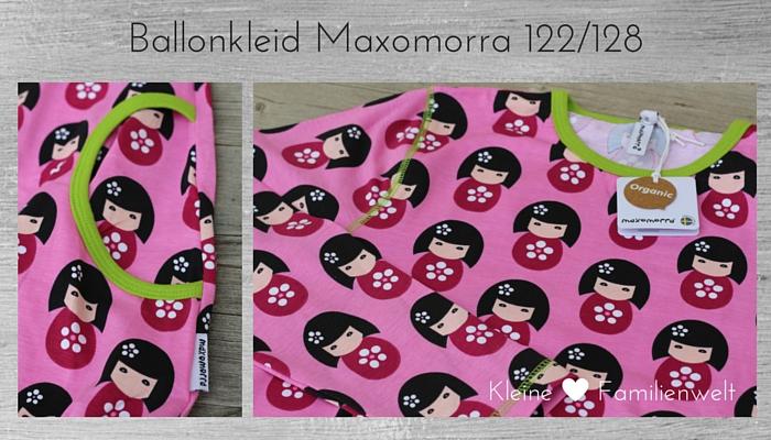 Maxomorra Ballonkleid