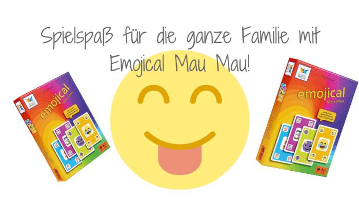 Spielspaß für die ganze Familie mit dem neuen Emojical Mau Mau!