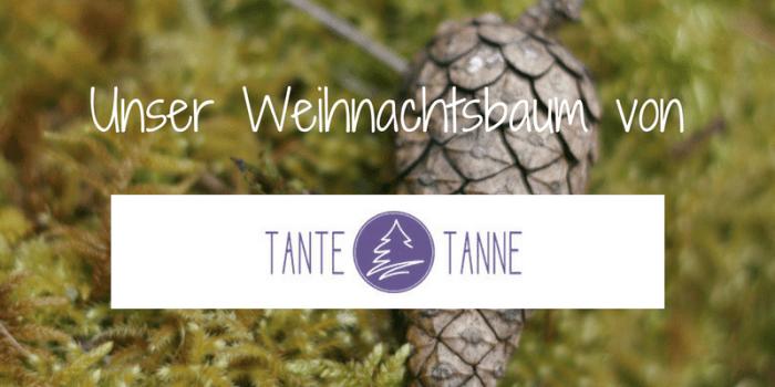 Mein Tipp: Weihnachtsbaum online kaufen bei Tante Tanne