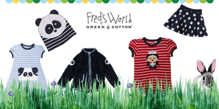 Neues von Fred´s World by Green Cotton und Verlosung
