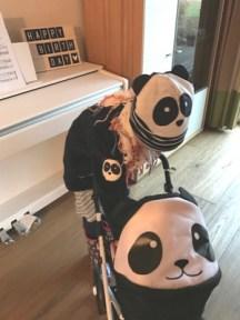 Panda Outfit von Green Cotton