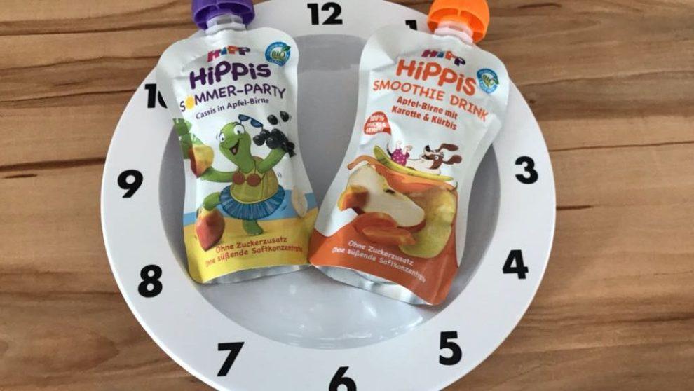 HiPPiS Sommerparty und Smoothie Drink auf Teller