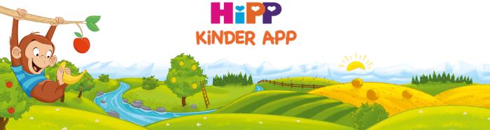 die HiPP Kinder App