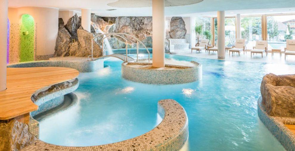 Wellnessbereich im Lanerhof - Winklerhotels Südtirol
