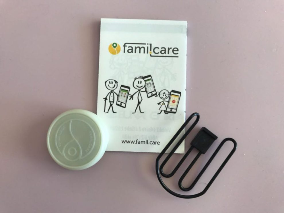 familcare SOS Button Lieferumfang
