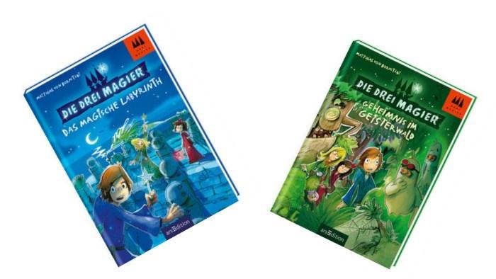 Cover Die Drei Magier Band 1 und 2