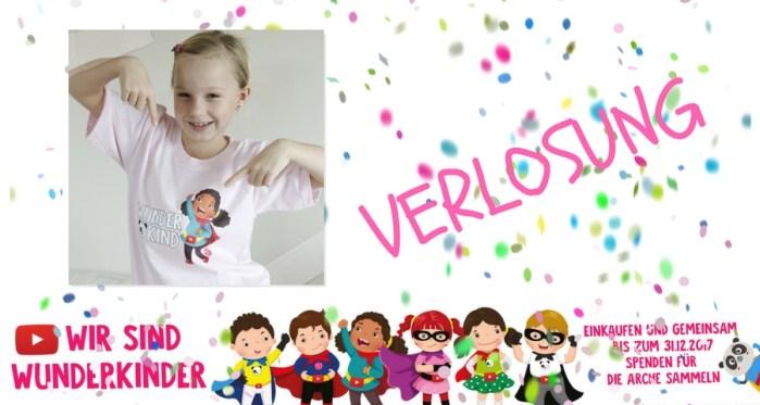 WIR SIND WunderKinder – Spendenaktion für das Kinderhilfsprojekt DIE ARCHE