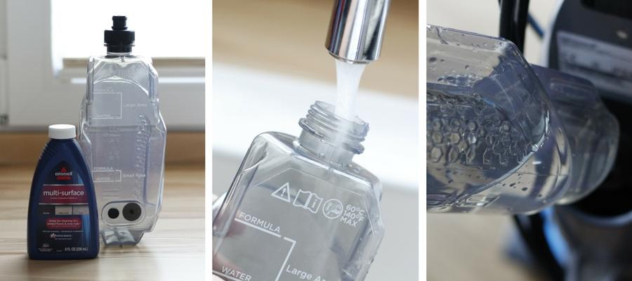 Reinigungsmittel und Wassertank Nass Trockensauger BISSELL