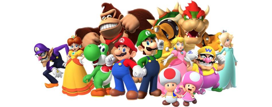 Super Mario mit Freunden