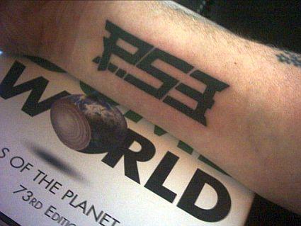 PS3 Tattoo