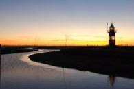 Wenn es Nacht wird am Hafen... (Foto: Henning Siats)