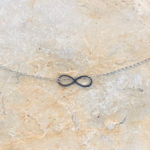Infinitykette (silber)