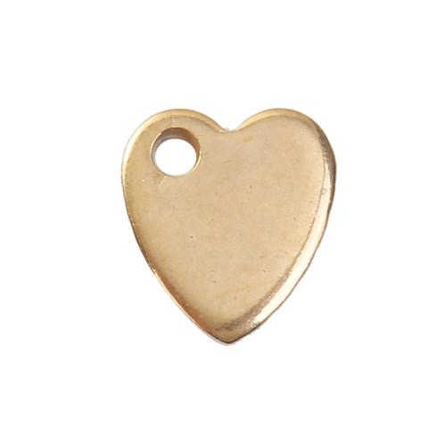Herzchenkette gold