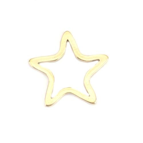Sternkette gold