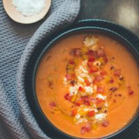 Salmorejo Cordobés - Andalusische Tomatensuppe