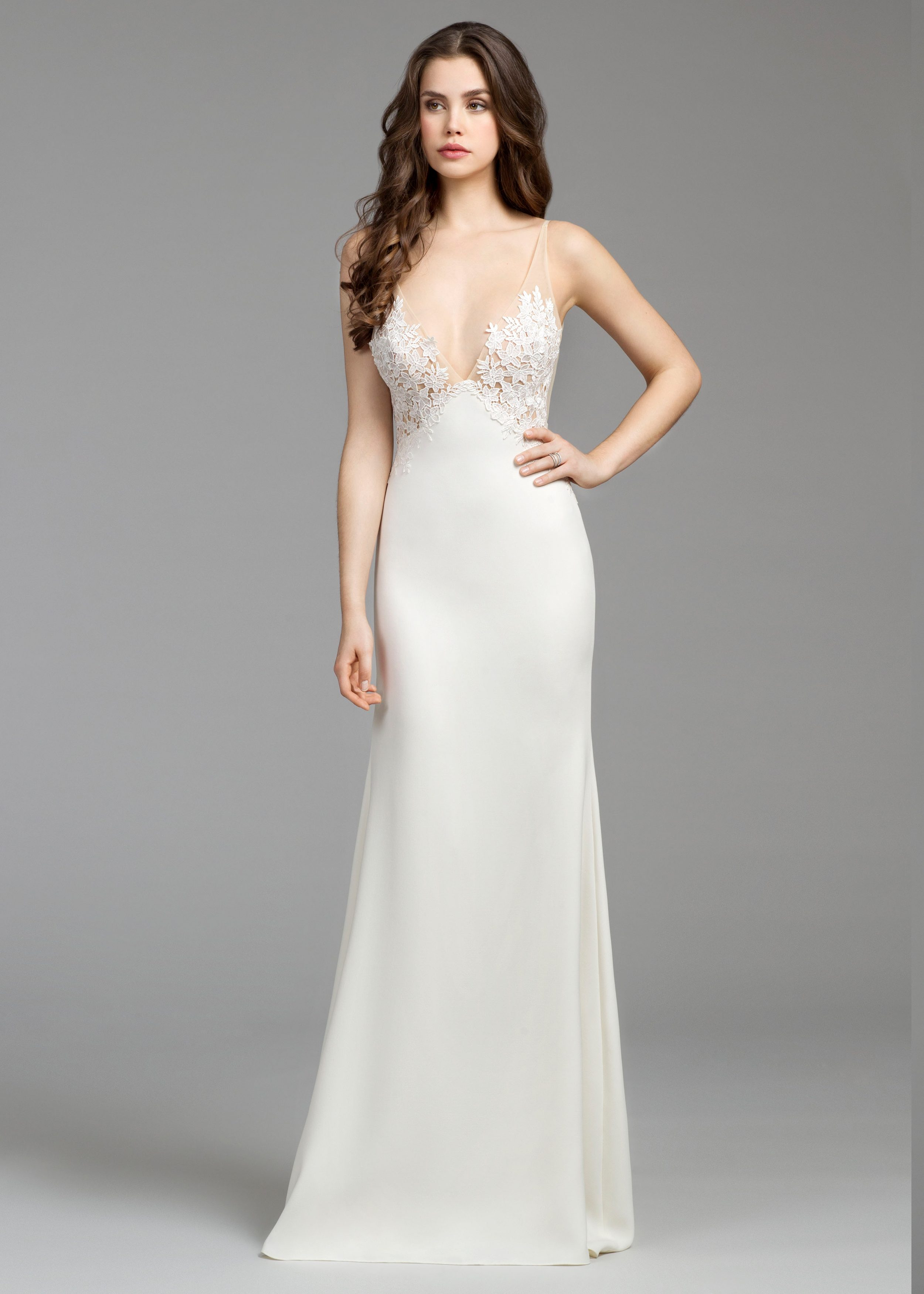Sheath Wedding Dress Kleinfeld Bridal