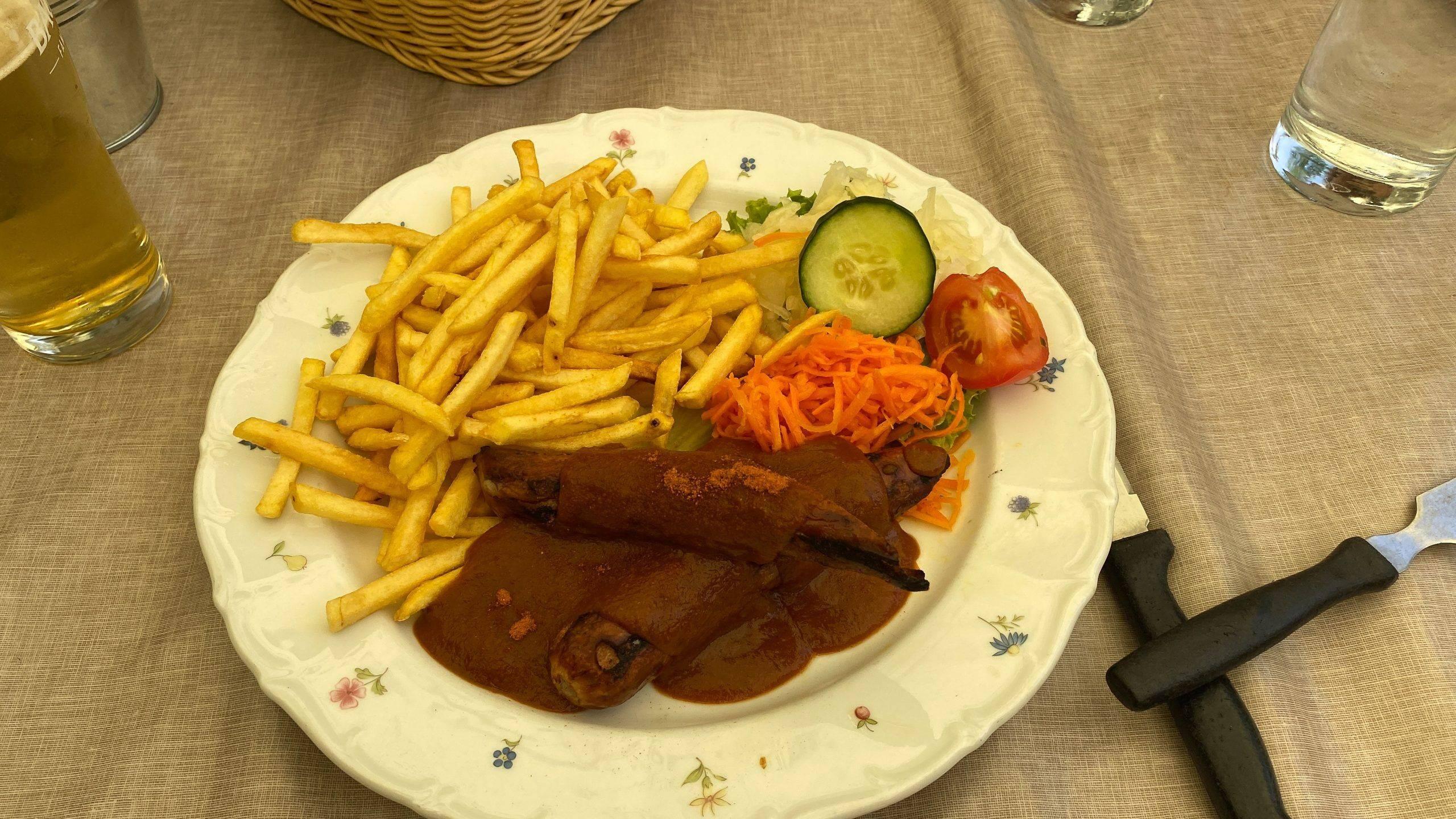 Mittagessen Bütthof Schwarzwald